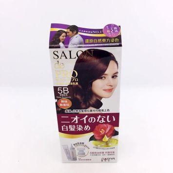 DARIYA - Salon de Pro Grey Hair Coloring Liquid (#5B Deep Purple) 1 set