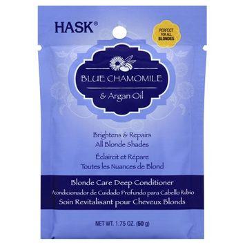HASK Blue Chamomile & Argan Oil Blonde Care Deep Conditioner, 1.75oz