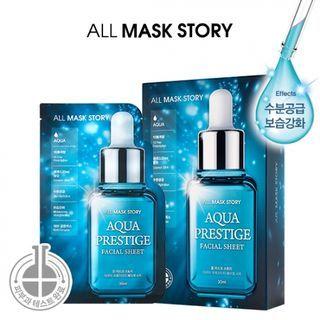 ALL MASK STORY - Aqua Prestige Facial Sheet 10pcs 30ml x 10pcs