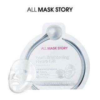ALL MASK STORY - Pearl Brightening Hydro Gel Mask 10pcs 30g x 10pcs