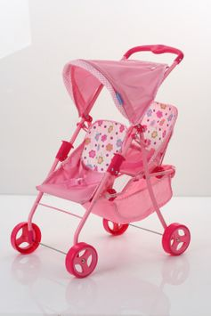 Hauck Hk Limited Spring Tandem Twin Doll Stroller
