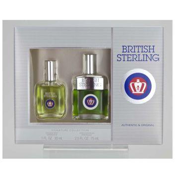 Dana Classic Fragrances British Sterling 2 Pc Gift Set, 3.5 fl oz
