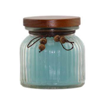 David Shaw Silverware Na Ltd Glass Jar Flameless Candle - Sweet Breeze Scented