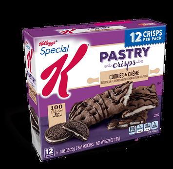 Kellogg's® Special K® Cookies & Créme Pastry Crisps