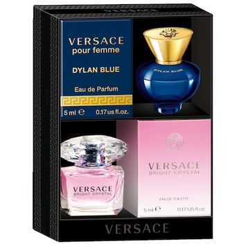 Versace Bright Crystal and Dylan Blue Pour Femme Mini Coffret