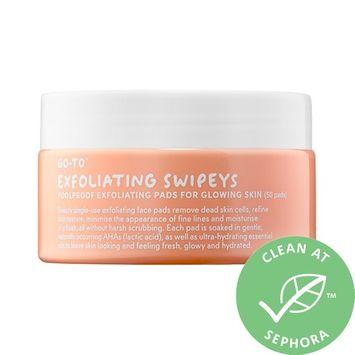 Go-To Exfoliating Swipeys 50 single use pads