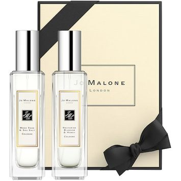 Jo Malone London Sweet & Spirited Duo ( Wood Sage & Sea Salt, Nectarine Blossom & Honey)