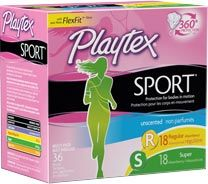 Playtex Sport Multipack with Regular and Super Absorbencies