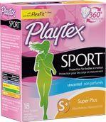 Playtex Sport Super Plus Absorbency