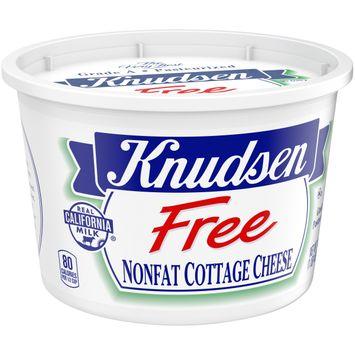 Knudsen Free Nonfat Cottage Cheese, 16 oz Tub