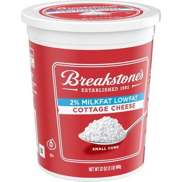 Breakstone's 2% Milkfat Cottage Cheese 32 oz Tub