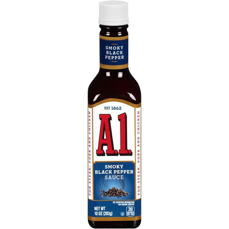 A.1. Smoky Black Pepper Sauce