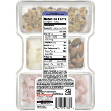 Oscar Mayer P3 Ham, Mixed Berry Granola Clusters, Almonds & Mozzarella Portable Protein Pack