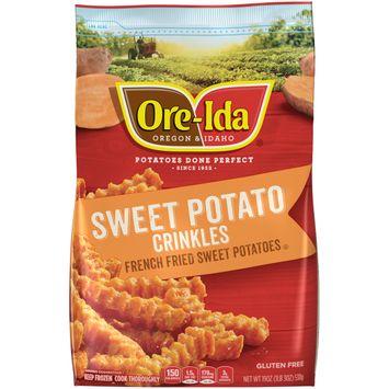 Ore-Ida Sweet Potato Crinkle Fries