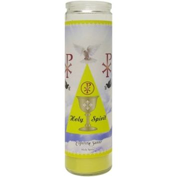 Scented Holy Spirit Candle, Yellow