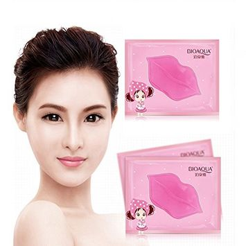 Moisturizing Lip Care Mask, Dry Lip Mask Help Anti Aging Remove Cuticle