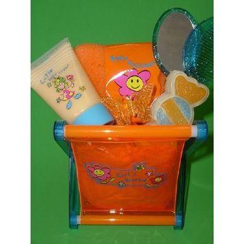 Fancy Orange Bath Set