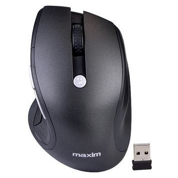 Maxim MX-M2020 2.4GHz Wireless Optical Scroll Mouse w/ 1750 DPI & Nano Receiver