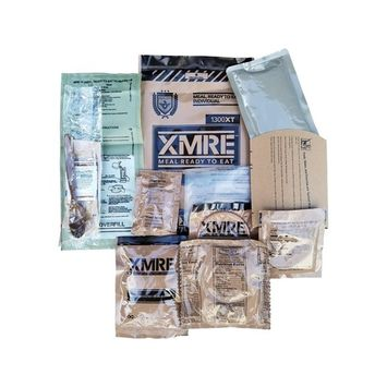 XMRE (Meals Ready to Eat) Individual Meal - 2017 Pack Date (Southwest Style Chicken)