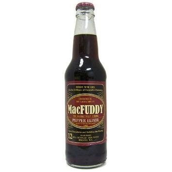 (Retro) MacFuddy Pepper Elixir 12 Pack : Soda Soft Drinks : Grocery & Gourmet Food