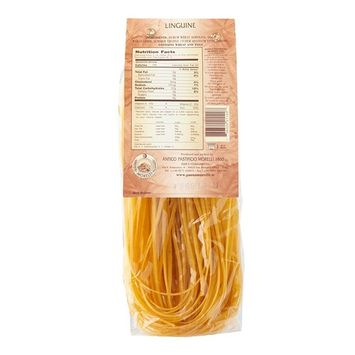 Morelli Italian Pasta Truffle Linguine with Wheat Germ - Linguine Tartufo, 8.8oz