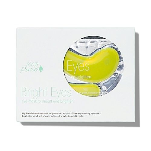 100% Pure Bright Eyes Mask, 5 Count