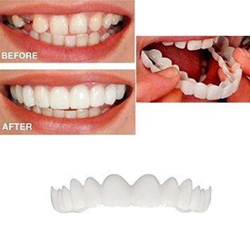 Whitening Denture Teeth Cosmetic Upper Veneer Temporary Smile Dental Care
