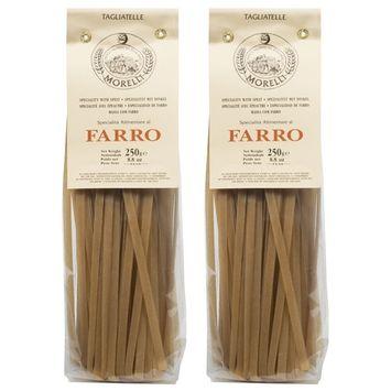 Pastificio Morelli Farrro Tagliatelle Pasta - Imported from Italy (pack of 2)