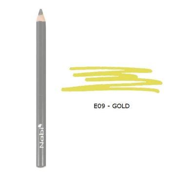 (3 Pack) Nabi Cosmetics Eye Pencil - Gold : Beauty