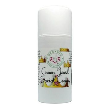 Organic Fields of Heather Crown Jewel Organic Nighttime Facial Moisturizer With Botanically Infused Ingredients, 4.0 fl. Oz
