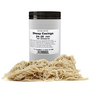 TSM Natural Sheep Sausage Casings, 24-26mm (1