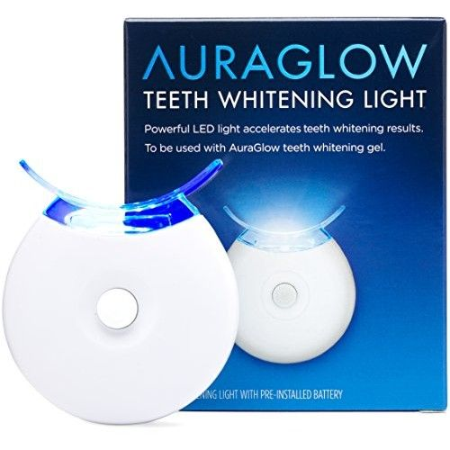 Auraglow Teeth Whitening Accelerator Light 5x More Powerful Blue Led Light Whiten Teeth Faster Reviews 2020