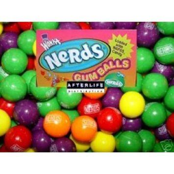 Wonka Nerds Filled Gumballs, 3 LB Bulk Candy