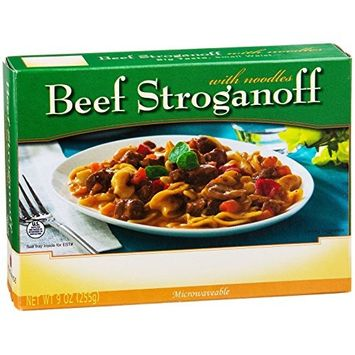 NutriWise - Beef Stroganoff w/Noodles - High Protein Diet Entree (1 Box)