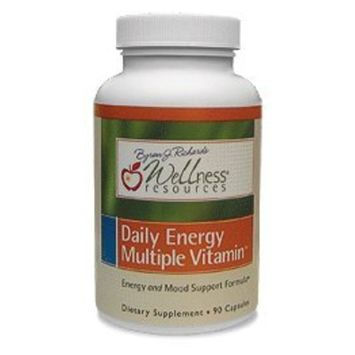 Daily Energy Multiple Vitamin - Highest Quality Multivitamin for Energy, Stress, Mood with Coenzyme B Vitamins and MethylFolate