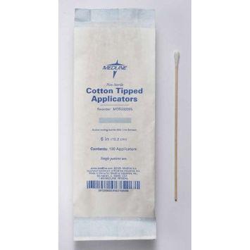 Applicator, Cotton-Tip, Wood, 6