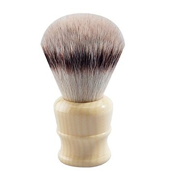 CSB Luxury EU Synthetic Hair Shaving Brush with Faux Ivory Handle for Men's Grooming Shaving