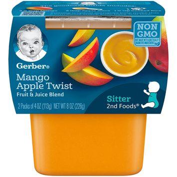 Gerber 2nd Foods® Baby Food | Mango Apple Twist