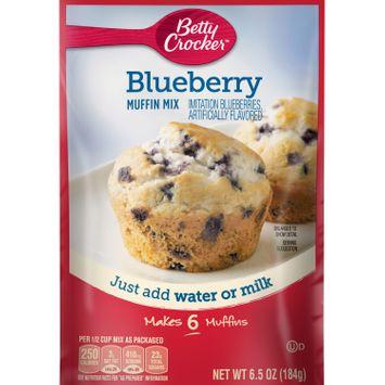 Betty Crocker Blueberry Muffin Mix, 6.5 oz