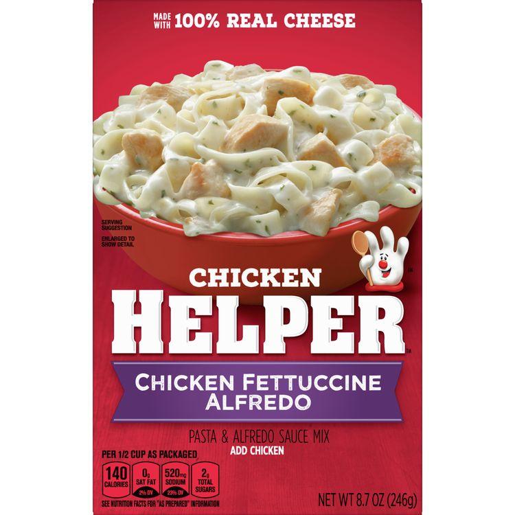 Chicken Helper Fettuccine Alfredo, 8.7 oz