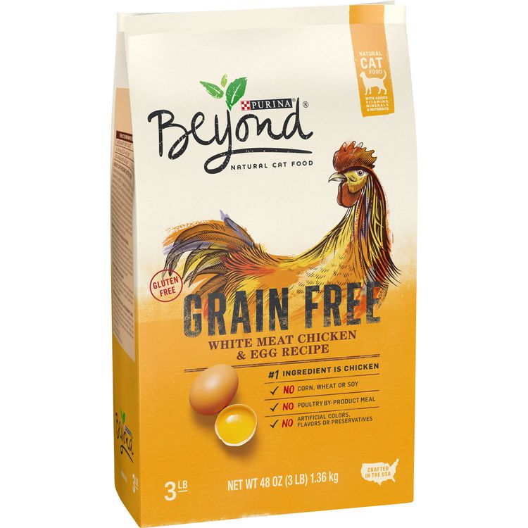 Purina Beyond Cat Food >> Purina Beyond Grain Free Natural Dry Cat Food Grain Free White Meat Chicken Egg Recipe
