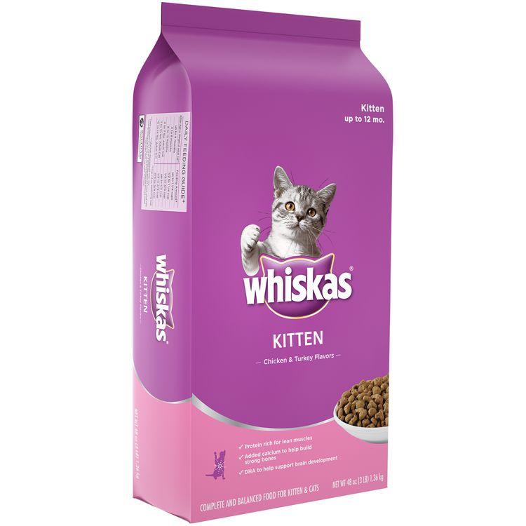 Whiskas® Kitten Chicken & Turkey Flavors Cat Food