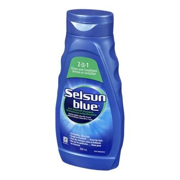 Selsun Blue 2-In-1 Cleans And Conditions Anti-Dandruff Shampoo