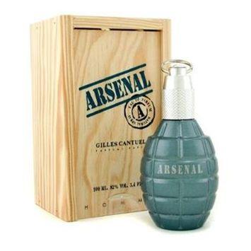 Gilles Cantuel Arsenal Blue Eau De Parfums Spray for Men, 3.4 Ounce