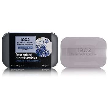 1902 Lavender by Parfums Berdoues 3.3 oz Soap