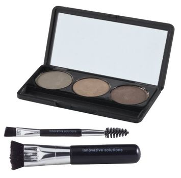 Aswechange i.s. BEAUTY Professional Hair and Brow Filler by Innovative, Brown