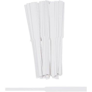 100pc Zink Color Disposable White Fragrance Perfume Tester Strips