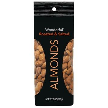 Wonderful Roasted & Salted Almonds 8 oz. Pouch