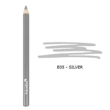 (3 Pack) Nabi Cosmetics Eye Pencil - Silver : Beauty
