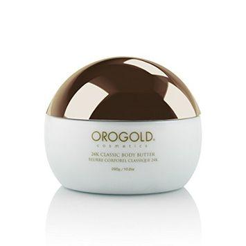 White Gold 24K Golden Body Butter from OROGOLD Cosmetics, 290 g / 10.2 oz.